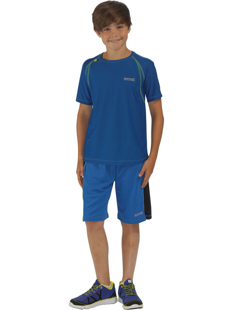 Regatta Diverge II Shortsleeve Shirt Children blue